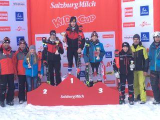 Siegerehrung Parallel Slalom 5.Platz Jenni Lorena